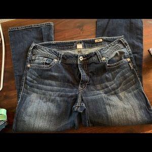 Silver bootcut suki jeans